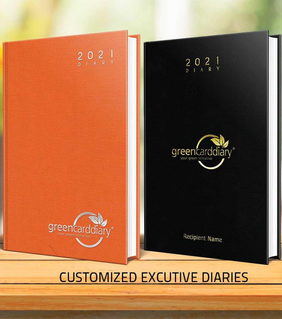 Customised Executive Diaries - Botswana Diaries